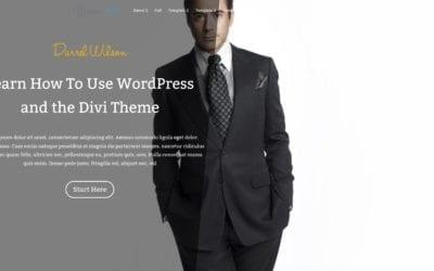 DIVI THEME 3.0 TUTORIAL FOR WORDPRESS