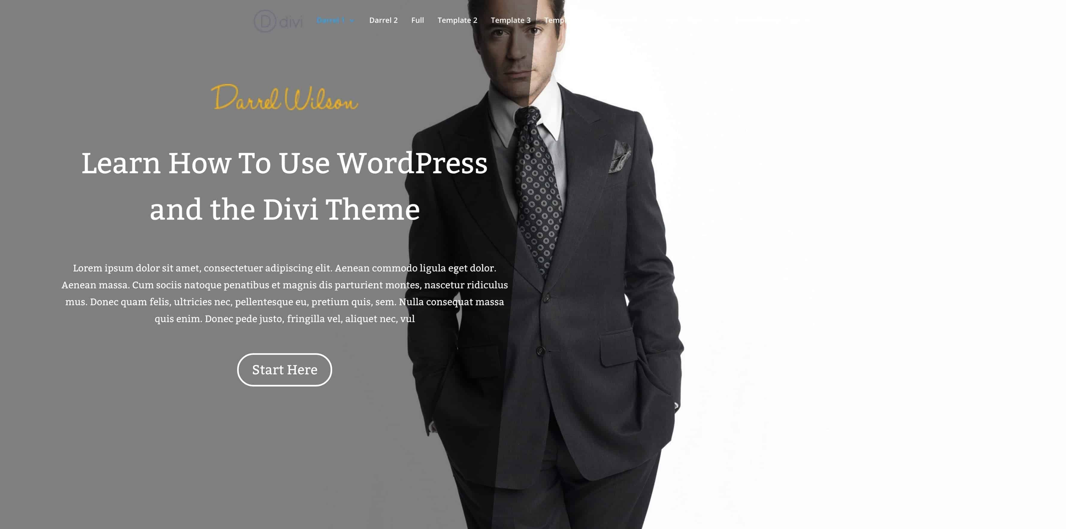 DIVI THEME 3.0 TUTORIAL FOR WORDPRESS