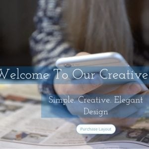 Creative Agency Layout