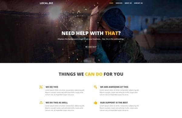 Free Small Business Layout