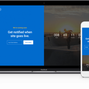 Divi Coming Soon Layouts