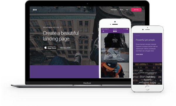 Divi Landing Page Layouts #2
