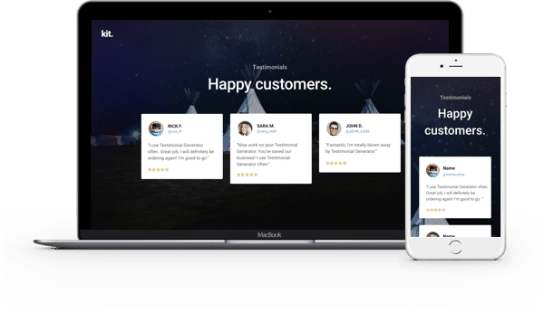 Divi Testimonials Layouts