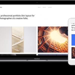 HomePage Portfoilo Layouts