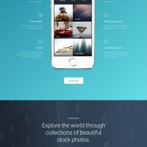 Ultimate Landing Page Layout