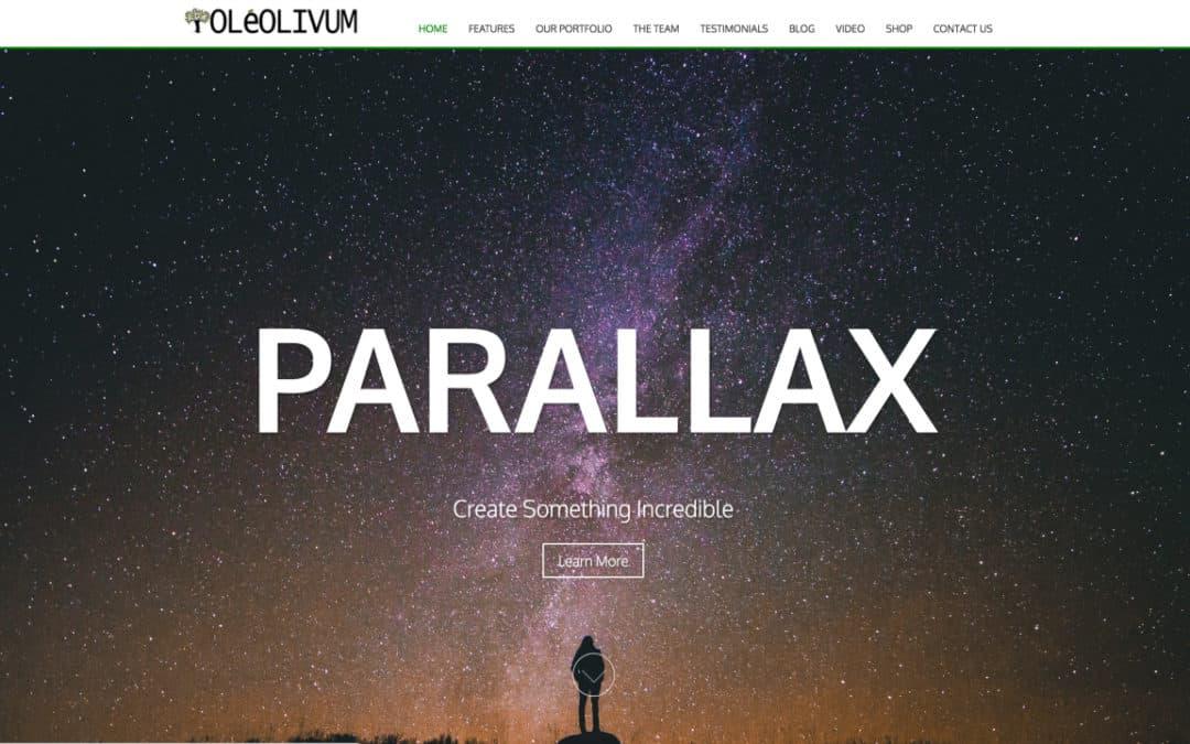 How To Create A Parallax WordPress Website