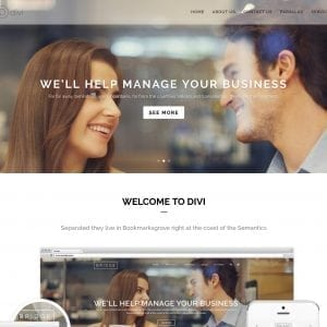 NEW DIVI Business Layouts