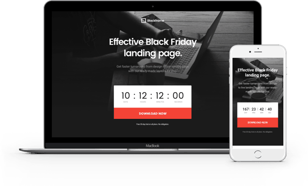 Divi Black Friday Layout