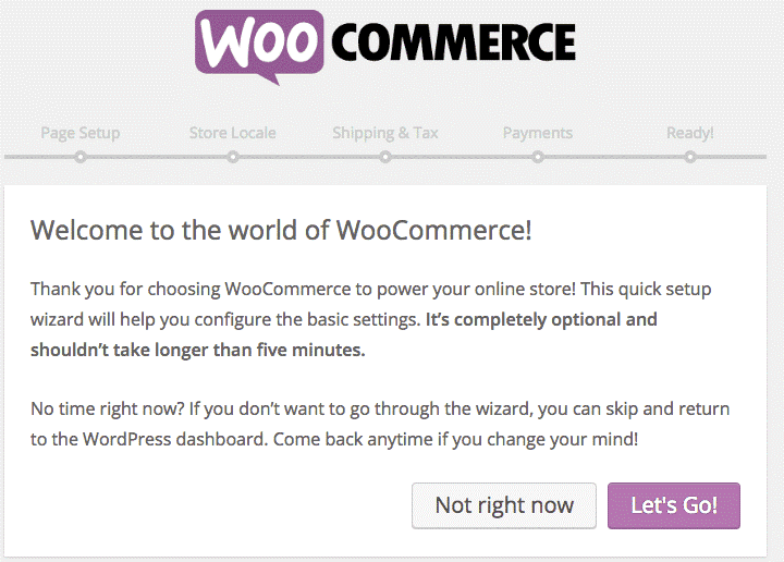 Start_using-wooCommerce