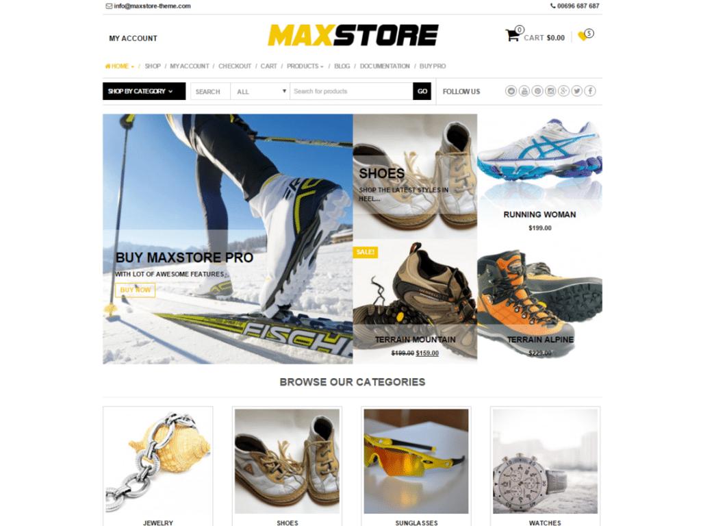 Maxstore_Ecommerce_site