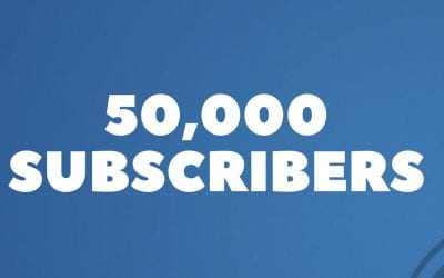 50,000 Subscribers On Youtube