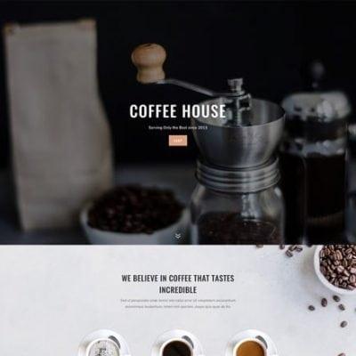 Divi Coffee Shop Layout