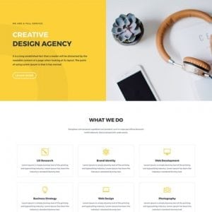Design Agency Layout