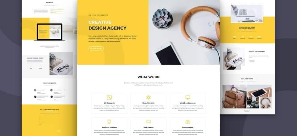 Design agency layout darrel wilson for Household design agency