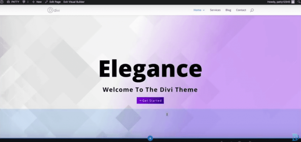 Divi Split Screen Demo Example
