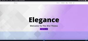 Divi Split Screen Demo Example