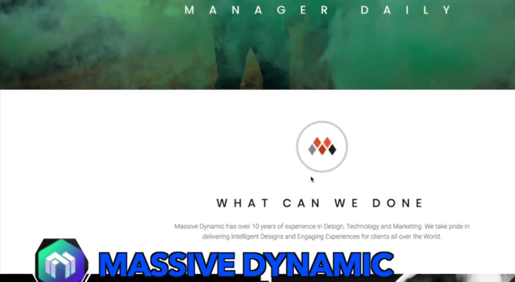 Massive Dynamic Theme