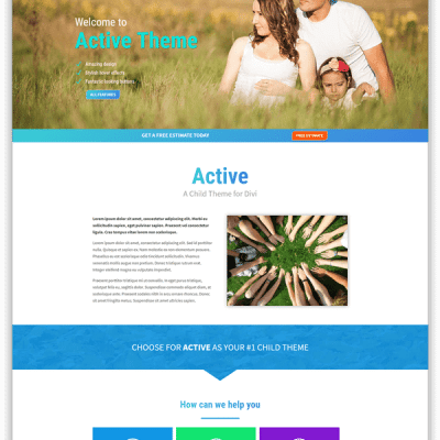 Active child Theme