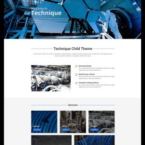 Technique child Theme