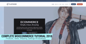WooCommerce Tutorial 2018