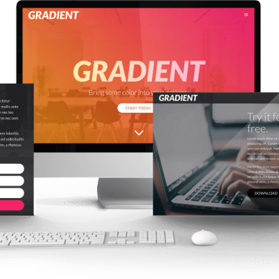 Gradient child Theme