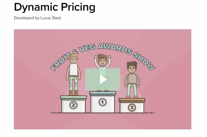 Dynamic Pricing - WooCommerce