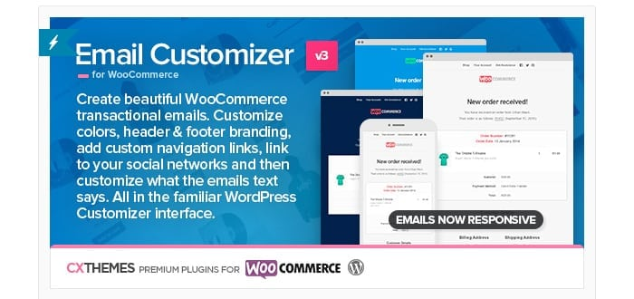 Email Customizer for WooCommerce by cxThemes CodeCanyon