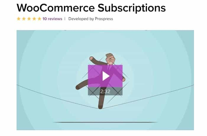 WooCommerce Subscriptions - WordPress Subscription Plugin