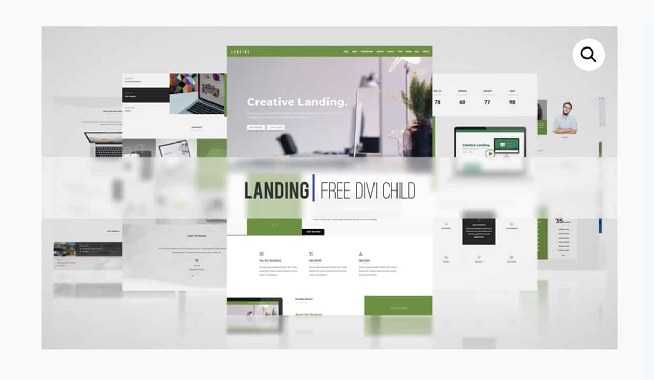 Best Divi Child Free Divi Theme Layouts