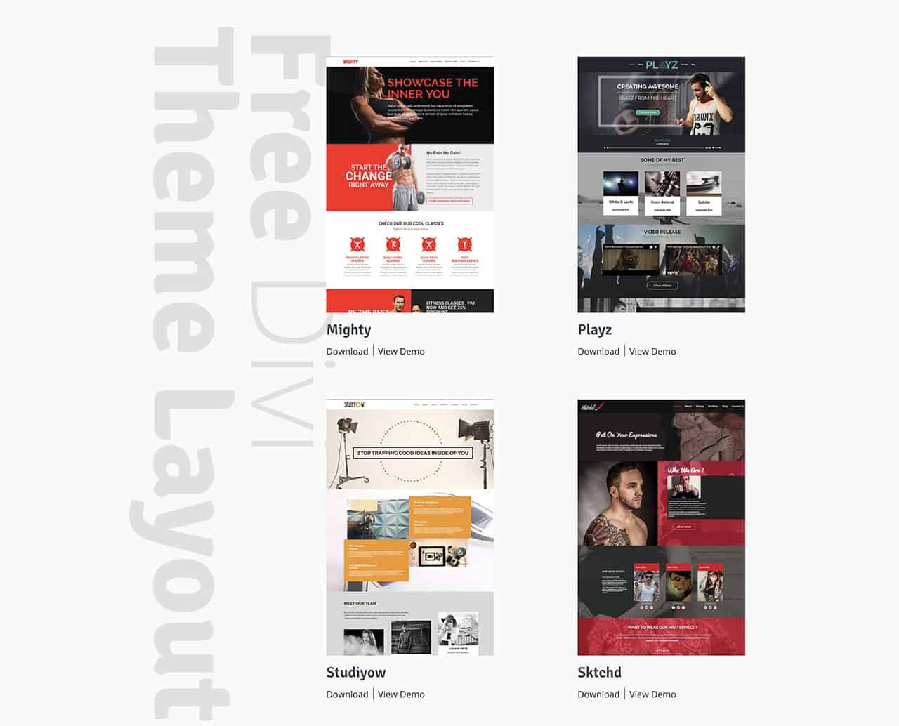 GoCrayons Free Divi Theme Layouts