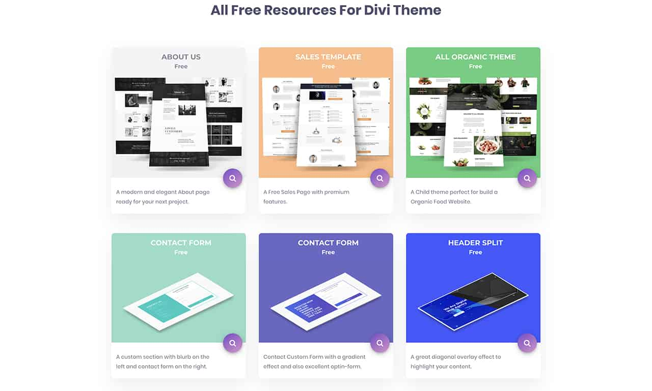 NeedYesterday Free Divi Theme Layouts