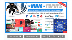 Ninja Popups Optin Form Plugin For WordPress